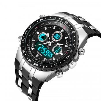 Relógio Fashion Digital Sport Militar Preto