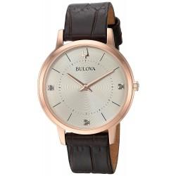 Relógio Feminino Bulova Diamond - 97P122