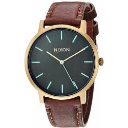Relógio Unisex Nixon Porter Leather