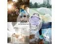 Relógio Feminino Luxury Lilás