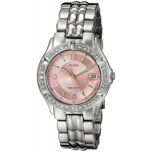 Relógio feminino GUESS Women s G75791M Sporty Silver   Compra24h 54a512a661