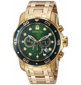 Relógio Invicta 0075 Pro Diver Banhado a ouro 18k