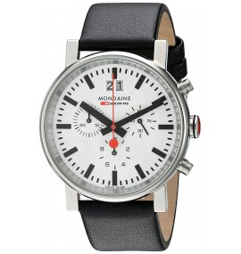 Relógio Mondaine Unisex Quartz Analog Chronograph Watch