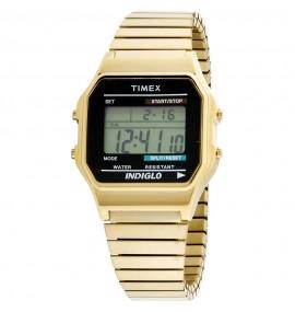 Relógio Timex Classic Digital Dourado