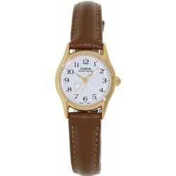 Relógio Feminino Casio Leather