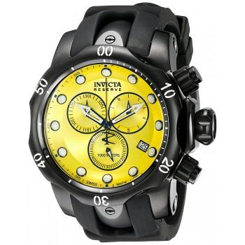 Relógio Masculino Invicta Reserve Collection Black Ion-Plated