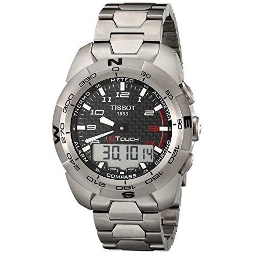 f556af7c980 Relógio Tissot T-Touch Expert Titanium