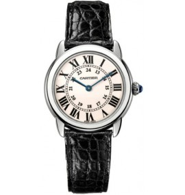 Relógio Cartier Ronde Solo Ladies Steel Watch W6700155