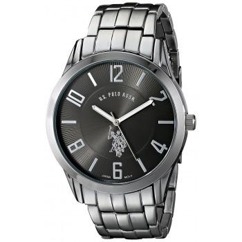 U.S. Polo Assn. Classic Masculino Gunmetal-Tone Dial Watch