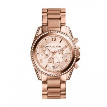Relógio Feminino Michael Kors Ouro Rosé