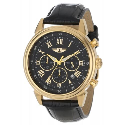 df37c33e294 Relógio masculino Invicta 90242-003 banhado a ouro 18k