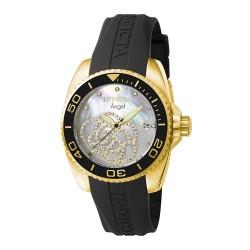 Relógio Feminino Invicta 0489 Angel Collection Zirconia d8fb349699