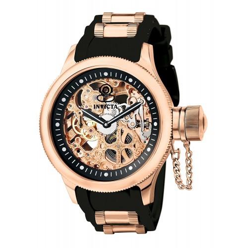 7023d728f68 Relógio Masculino Invicta 1090 Russian Diver Ouro Rosé