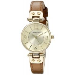 Relógio feminino Anne Klein Goldtone