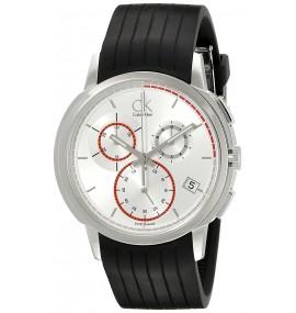 Relógio Masculino Calvin Klein Black Rubber