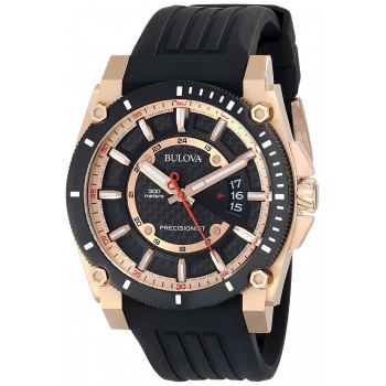 Relógio Masculino Bulova 98B152 Precisionist Analog Chronograph Preto