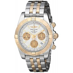 Relógio Masculino Breitling Chronomat Swiss Automatic Two Tone Watch