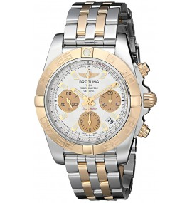 Relógio Masculino Breitling Chronomat Swiss Automatic Two Tone Watch
