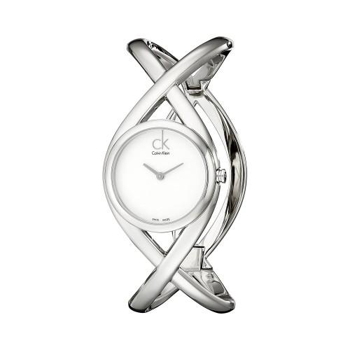 8896b54dd Relógio Feminino Calvin Klein Enlace Prata| Loja Compra24h