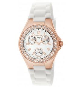 Relógio feminino Invicta 1646 Angel Jelly Ouro Rosé 18k