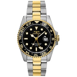 Relógio Masculino TECHNOS GMT T2134TB Japan