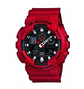 Relógio G-Shock GA-100B-4ADR Watch Red