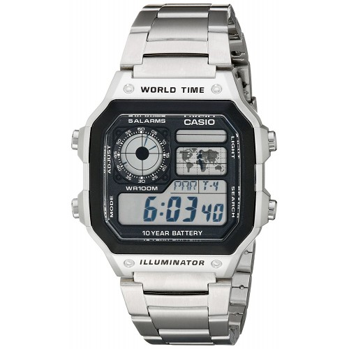 c463d8d1944 Relógio Casio Digital AE1200WHD-1A