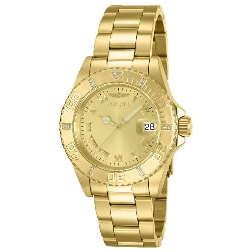 d97b13299cc Relógio Invicta Feminino 12820 Pro Diver Diamond