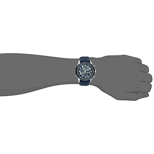 19891b4cb0e Relógio Masculino Citizen AT8020-03L Blue Angels World A-T Eco-Drive
