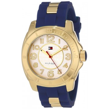 Relógio Feminino Tommy Hilfiger Casual Sport Gold Case