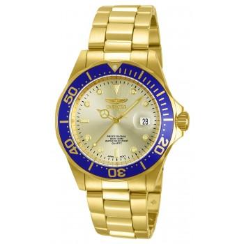 Relógio Masculino Invicta 14124 Pro Diver Ouro 18k