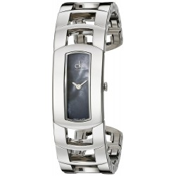Relógio Feminino Calvin Klein Black Mother of Pearl Dial
