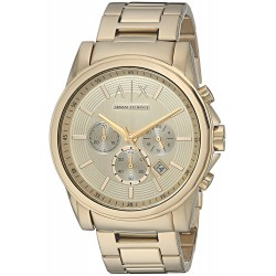 Relógio Masculino A/X Armani Exchange Outer Banks Chronograph Watch