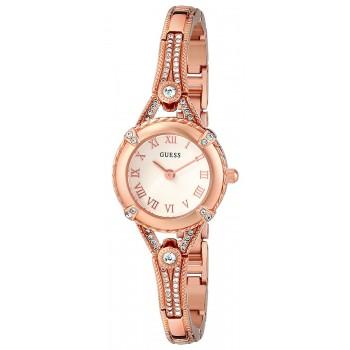 Relógio feminino GUESS Women's Petite Crystal