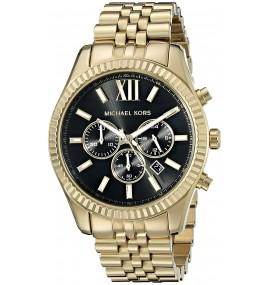 Relógio Michael Kors Goldtone Lexington