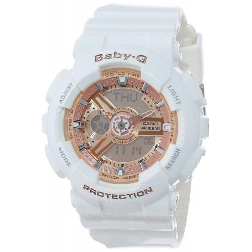 40ae0a94a86 Relógio Feminino Casio Baby G Branco