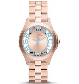Relógio Feminino Jacob Time Marc By Marc Jacobs Henry Rose Gold