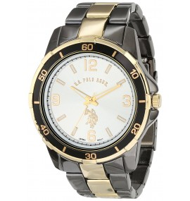 U.S. Polo Assn. Classic Masculino Analog-Quartz Two Tone Watch