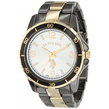 U.S. Polo Assn. Classic Masculino Analog-Quartz Two Tone Watch