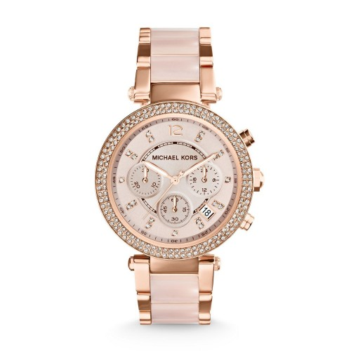 f661cecb0d163 Relógio Feminino Michael Kors Rosé