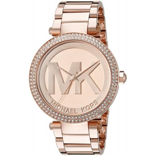 f624660b8e7bd Relógio Michael Kors Feminino Ouro Rosé Parker