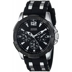 3947a3d5326 Relógio GUESS masculino U0366G1 Sporty preto