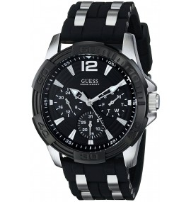 Relógio GUESS Men's U0366G1 Sporty Silver