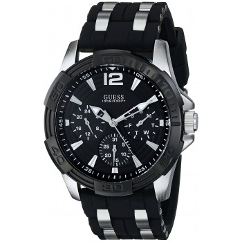 Relógio GUESS masculino U0366G1 Sporty preto