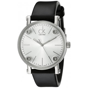 Relógio Feminino Calvin Klein Congent Silver Dial