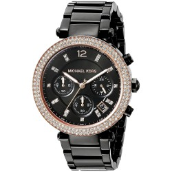 Relógio Feminino Michael Kors Black Parker 335dd5ba9d