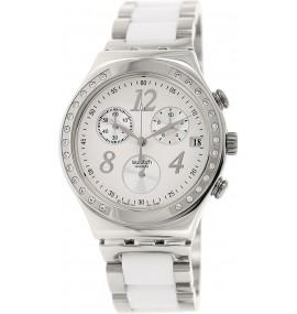 Relógio Swatch Dreamwhite Chronograph Unisex Watch