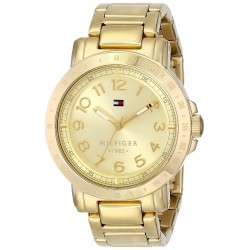 Relógio Feminino Tommy Hilfiger Gold-Plated