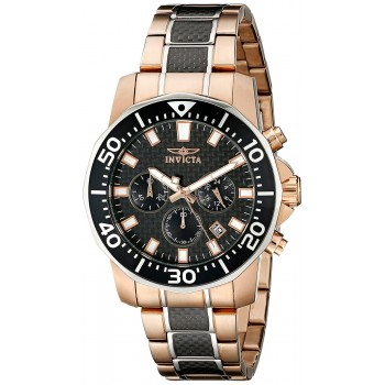 Relógio Masculino Invicta 17255SYB Pro Diver com Ouro Rosé 18k