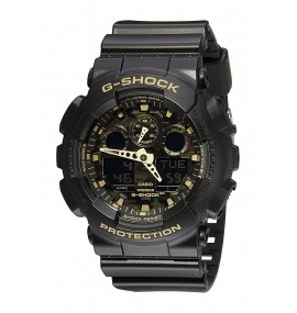 G-SHOCK Men's GA100 Camo Dial Watch